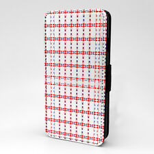 Digital Art Print Design Pattern Flip Case Cover For Apple iPhone - P456