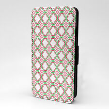 Digital Art Print Design Pattern Flip Case Cover For Apple iPhone - P457