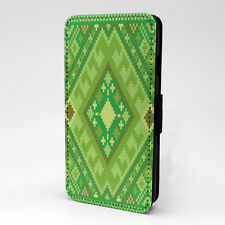 Aztec Art Print Design Pattern Flip Case Cover For Apple iPhone - P528