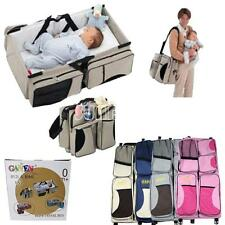New Baby Travel Bag Changing Station Portable Infant Nursery Crib Folding Bed