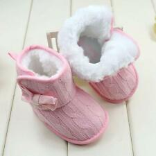 Baby Boys Girls Winter Boots Toddler Thick Warm Snow Boots Fur Comfort Shoes