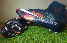 NIKE MERCURIAL SUPERFLY IV FG CR7 LAVA SAVAGE BEAUTY ACC FOOTBALL BOOTS SOCCER