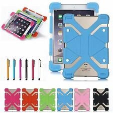 "Universal Shockproof Rubber Cover Soft Silicone Case For Android 7"" 8"" Tablet PC"