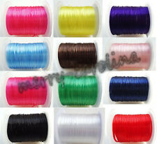 Lots 10m Strong Elastic Stretchy Beading Thread Cords Jewelry Making DIY 0.5mm