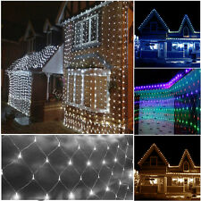 3M*2M Net Mesh Fairy String Lights Christmas Party Wedding Outdoor & Indoor Xmas