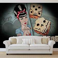 Lucky Bones Alchemy Tattoo WALL MURAL PHOTO WALLPAPER (2373DK)