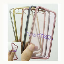 CLEAR SOFT TPU SILICONE GEL RUBBER CASE SKIN COVER FOR IPHONE SERIES BACK COVER