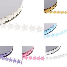 20Yards Polyester Star Sewing Ribbon Trims Craft Lace Wedding Christmas Decor