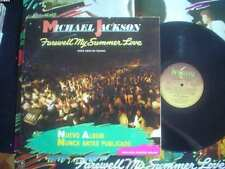 MICHAEL JACKSON lp FAREWELL MY SUMMER LOVE argentina ID# 25342 WITH POSTER 1984