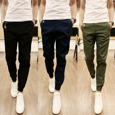 Stylish Mens Trousers Casual Jogger Sportwear Baggy Harem Pencil Pants Sports