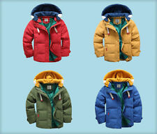 Kids Boys Down Jacket for Winter Clothes Christmas Hooded Children Warm Coats