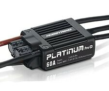 Hobbywing Platinum 60A Pro V4 3-6S Brushless Electronic Speed Controller ESC for
