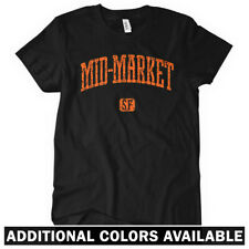 Mid-Market San Francisco Women's T-shirt S-2X - Gift California 415 SF Bay Area