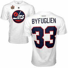 Winnipeg Jets Dustin Byfuglien 2016 NHL Heritage Classic Player Name and Number