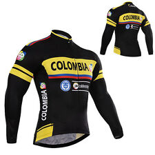 Size S M L XL 2XL 3XL Mens Cycling Jersey Long Sleeve Outdoor Riding Sports Wear