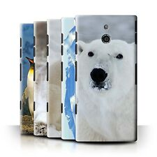 STUFF4 Back Case/Cover/Skin for Sony Xperia P/LT22i/Arctic Animals