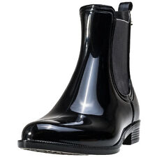Tommy Hilfiger Odette 6r Womens Chelsea Boots Black Patent New Shoes