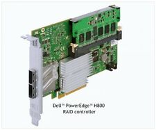 Dell PERC H800 RAID Controller Card for PowerEdge and PowerVault. Adapter with 2