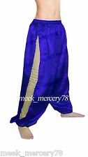 Belly Dancing Satin Side Slit Harem Yoga Pant For Women Tribal Costume Trouser