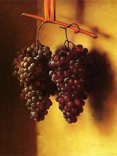Bunches of Grapes Tile Mural Kitchen Bathroom Wall Backsplash Marble Ceramic