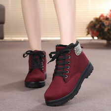 Winter Women's Warm Snow Boots Suede Plush Shoes Casual Cozy Fashion Moccasins