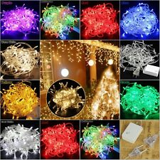 10M 100LED Warm White String Fairy Wedding Light Lamp Christmas Party Decoration