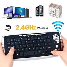 2.4Ghz Wireless Keyboard Touchpad with Mouse For PC PS4 Smart TV Computer NEW