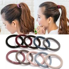 Wholesale 100PCS Women Elastic Hair Tie Band Ropes Ring Braid Holder Accessories