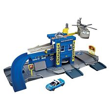 Police Station Play Set Kids Toy Police Car & Helicopter Gift John Lewis 3+ New