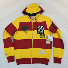 Hawke & Dumar The Naval Fullzip Hoodie in Red Sunburst NWT