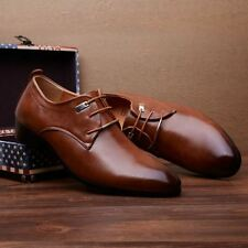 Men's Business Meeting Shoes Leather Casual Shoes Dress Formal Oxfords Shoes