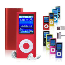 "New 1.8"" 4GB MP3 MP4 Slim Digital LCD Screen FM Radio Music E-book Video Player"