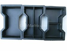 Paver Stone Molds PS 1019 Concrete Stepping Stone, Paving Cement Plastic Forms