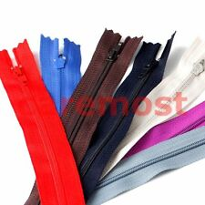 Lots of 9Inch Nylon Coil Invisible Sewing Zipper Tailor Sewer Craft Clothes