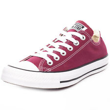 Converse Chuck Taylor Allstar Ox Mens Trainers Maroon New Shoes