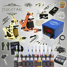 Complete Tattoo Kit Inkstar Journeyman with Black, Color, Professional or No Ink
