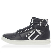 CALVIN KLEIN JEANS New Men Black sneakers Shoes High Top Laced NWT