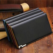 Hot Men's Long Leather Wallet Pockets Purse ID Credit Card Clutch Bifold Wallets