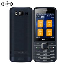 Quad SIM Cards 2.8 inch HD Big Screen standby phone with Dual Camere bluetooth..