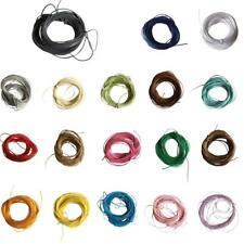 10M Wax Nylon String Rope DIY Bracelet Necklace Making Jewelry Cord Thread 1mm