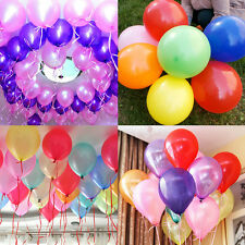 "12"" 10 20 50pcs Latex Helium Ballons Wedding Birthday Party Decor"