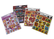 Childrens  Fun Stickers Party Pack  Fillers disney frozen minni micky mouse cars