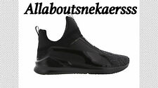 Puma Fierce Kurim Women Shoes Black-Black-Black 189866 04 Limited Stock