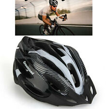 Unisex Adult Road Bike Bicycle Cycling Carbon Safety Helmet Visor 4 Colors TOP