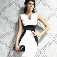 Elegant Women Ladies Sleeveless Bodycon Dress Cocktail Prom Party Formal Dress