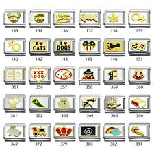 Your Choice Italian Charms 9mm Stainless Steel Bracelet Link Charm-133384