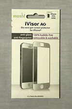 New in Box Moshi iVisor AG Anti-Glare/Fingerprint Screen Protectors iPhone 5/5s