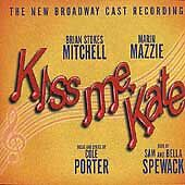 Kiss Me Kate / B.C.R. Cole Porter Audio CD