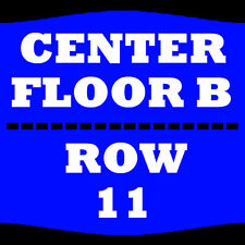 2 TIX JEFF DUNHAM 2/8 FLOOR B ROW 11 IWIRELESS CENTER MOLINE