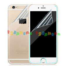 Wholesale 1 - 50 Front + Back PET Clear Screen Protector For iPhone 6 6S 4.7""